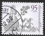 Stamps Hungary -  4148 - Jóven con patos, diseño de Judit Wigner