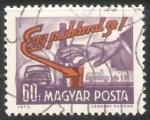 Stamps Hungary -  Cuando conduzca no beba