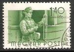 Sellos de Europa - Hungría -  Conductor de transporte publico