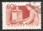 Stamps Hungary -  Cartero