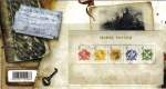 Stamps : Europe : United_Kingdom :  GRAN BRETAÑA Great Britain 2007 Tarjeta y Sellos Nuevos Harry Potter