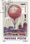 Stamps Hungary -  GLOBO AEROSTATICO