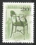 Sellos de Europa - Hungría -  Muebles de diseño antiguos