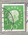 de Europa - Alemania -  1959 Serie b�sica. Presidente Dr. Thedore Heuss.