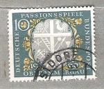 de Europa - Alemania -  1960 Fiestas de la pasi�n de Oberammergau.