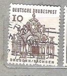 de Europa - Alemania -  1964 Serie b�sica. Edificios del siglo XII. C.