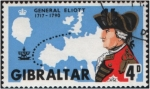 Sellos del Mundo : Europa : Gibraltar : General Elliot