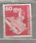 Sellos del Mundo : Europa : Alemania :  1978 Serie básica. Industria y técnica.