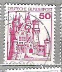 Sellos del Mundo : Europa : Alemania :   1977 Castillos y palacios. 2 C.