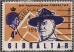 Stamps : Europe : Gibraltar :  Baden Powell
