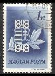 Stamps Hungary -  Escudo nacional