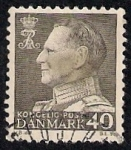 Stamps Denmark -  Rey Frederik IX