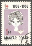 Stamps Hungary -  Niña y corazon