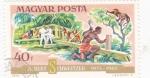 Sellos de Europa - Hungría -  ALBERT SCHWEITZER-MÉDICO MISIONERO