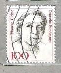 Sellos del Mundo : Europa : Alemania :  1988 Mujeres famosas. Therese Giehse, 1898-1975. Hannah Arendt, 1906-1975. Mathilde Franziska Anneke