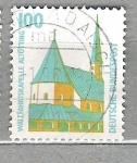 Sellos del Mundo : Europa : Alemania :  1989 Serie básica. Turismo. 3 C.
