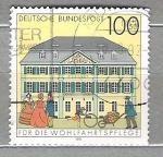 Sellos del Mundo : Europa : Alemania :  1991 Oficinas postales de época.**