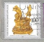 Sellos del Mundo : Europa : Alemania :  1992 Relojes de época.**