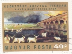 Sellos de Europa - Hungría -  P I N T U R A