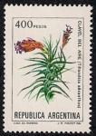 Stamps Argentina -  Tillandsia aeranthos