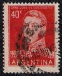 Sellos de America - Argentina -  General Jorge de San Martín
