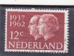 Stamps Netherlands -  CICUENTENARIO BODA REAL