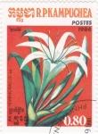 Stamps Cambodia -  FLORES-HIMENOBALLIS