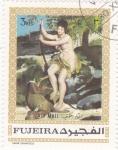 Stamps United Arab Emirates -  PINTURA DESNUDOS