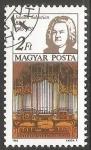 Sellos de Europa - Hungría -  Johann Sebastian Bach