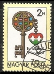 Stamps Hungary -  Dia muldial del turismo