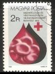 Sellos de Europa - Hungría -  Congreso mundial hematologico de Budapest