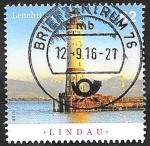 Stamps Germany -  2968 - Faro de Lindau