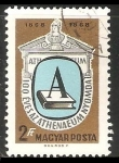 Stamps Hungary -  Centenario de la prensa de Athenas