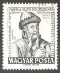 Sellos de Europa - Hungría -  Johann Gutenberg (1400-1468)