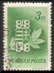 Sellos de Europa - Hungría -  Centenario del Escudo de armas de Hungría