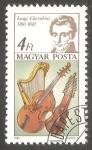 Stamps Hungary -  Luigi Cherubini