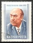Stamps Hungary -  Pablo Neruda