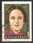 Stamps Hungary -  Flóra Martos (1897-1938)