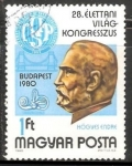 Stamps Hungary -  Dr. Endre Hőgyes