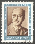Sellos de Europa - Hungría -  Mihály Károlyi (1875-1955)