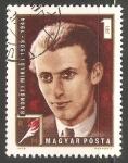 Stamps Hungary -  Radnoti Miklos