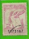 Sellos del Mundo : America : Paraguay : Adicional Pro-Cartero
