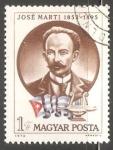 Sellos de Europa - Hungría -  José Marti (1853-1895)