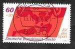 Sellos de Europa - Alemania -  Berlin 583 - Halterofília