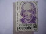 Stamps Spain -  Ed:2648 - P. Calderón 1600-1681