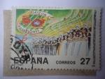 Stamps Spain -  Ed:3222 - Orfeon Pamplones- Cien años, 1892-1992