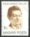 Sellos de Europa - Hungría -  Ferenc Erdei