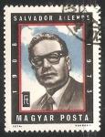 Sellos del Mundo : Europa : Hungría : Salvador Allende (1908-1973)