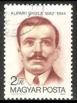 Sellos de Europa - Hungría -  Gyula Alpári