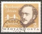 Sellos de Europa - Hungría -  István Széchenyi (1791-1860)